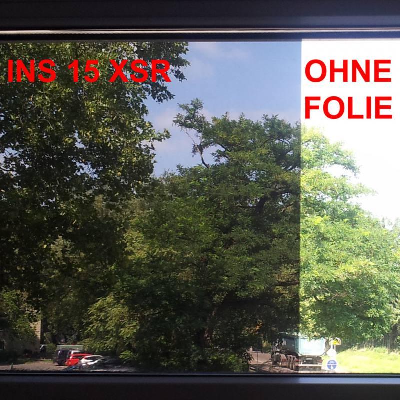 Sonnenschutzfolien INS 15 XSR dunkel -