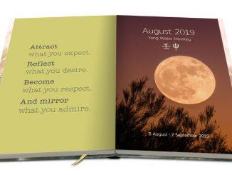 Feng Shui Kalender: Einführungsseite August 2019
