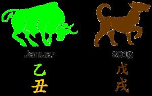 der Monat des Holz-Büffels