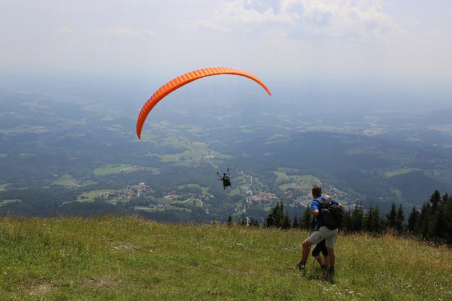 """Blick vom Schöckl - dem """"Hausberg von Graz"""", Foto (C) holding graz / flickr CC BY 2.0"""