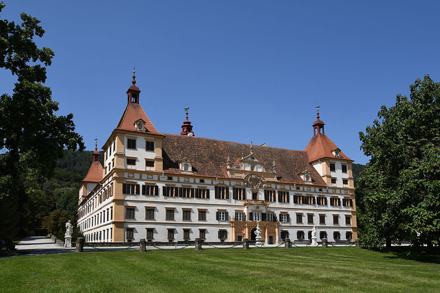 Schloss Eggenberg in Graz, Foto (C) Herbert Frank / flickr CC BY 2.0