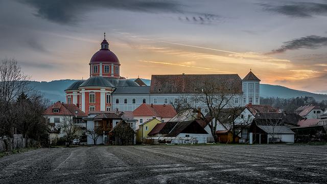 Augustiner-Chorherrenstift in Pöllau, Foto (C) Bernd Thaller / flickr CC BY 2.0