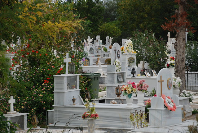Friedhof in Griechenland, Foto: flöschen / flickr CC BY 2.0