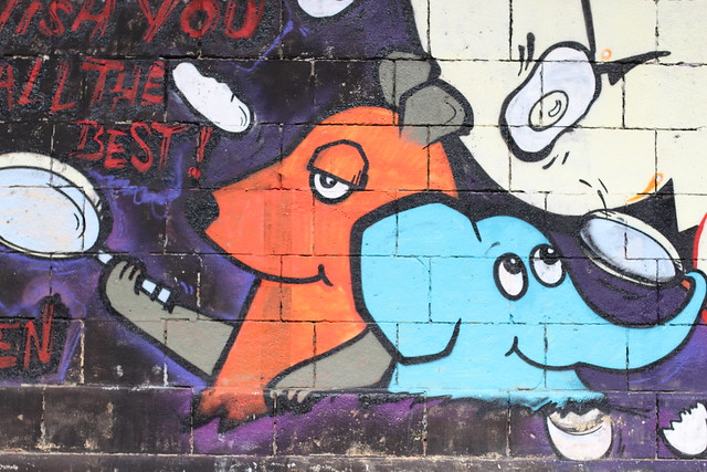 So sehen Grafittis überlicherweie nicht aus! Foto: Max Pfandl / flickr CC BY 2.0