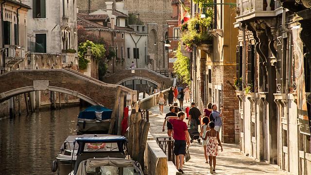 Wie oft wurde schon prophezeit, dass Venedig untergeht? Das Rekordhochwasser von 1966 wurde bisher nicht überschritten. Foto: Helge Thomas / flickr CC By 2.0