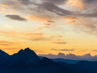Morgendämmerung in den Bergen, Foto: Siegfried Rabanser / flickr CC By 2.0