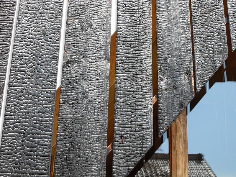 Yakisugi-Fassadendetail, Foto: japanese_craft_construction / flickr CC BY 2.0