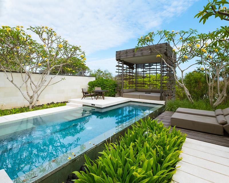 Schön integrierter Bali-Pool, Foto: a.canvas.of.light / flickr CC BY 2.0