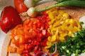 Enthält viel Chi: Gemüse