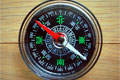 Kompassmessung der Himmelsrichtung