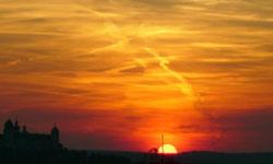 Der Sonnenuntergang: Das Leben voll auskosten